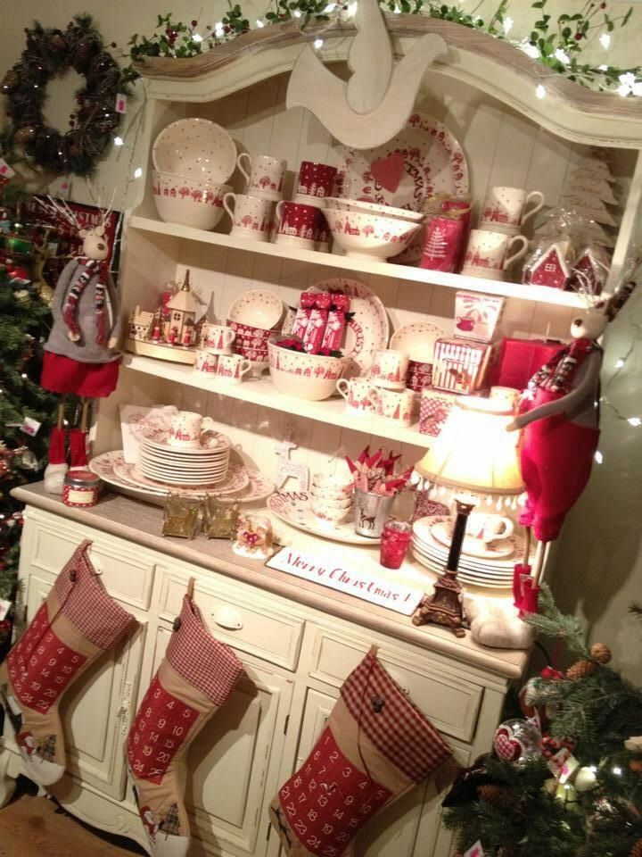 Emma Bridgewater Christmas Town Display