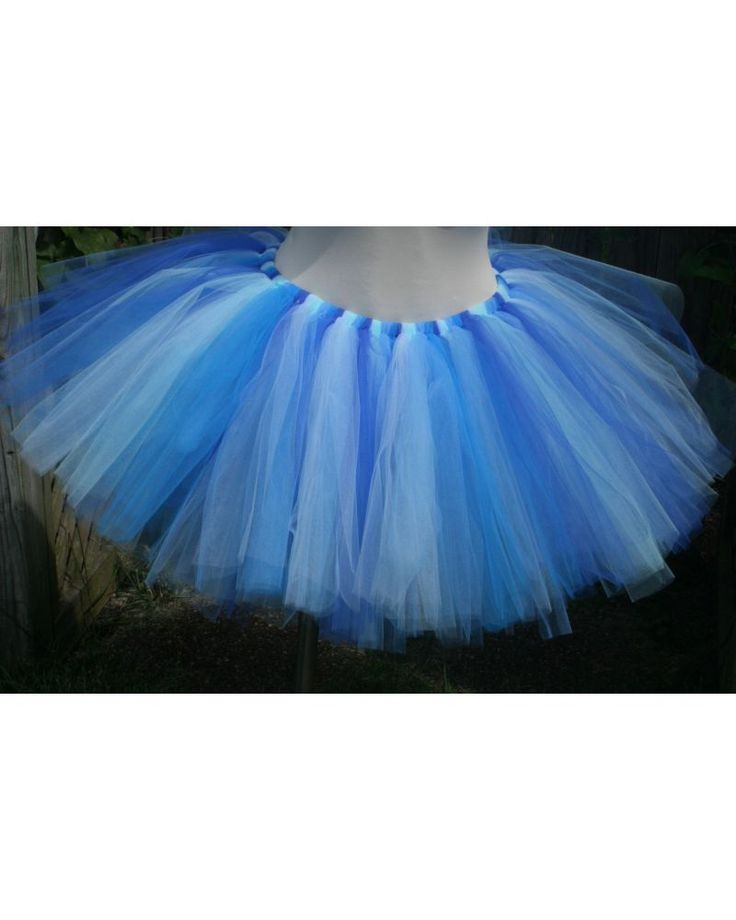 Shades of Blue Adult Teen Tutu, Cinderella Tutu