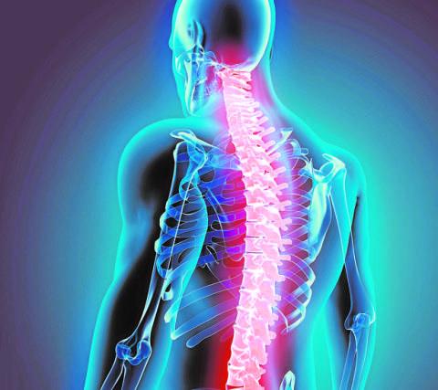 Los dolores periódicos en lo bajo del vientre y en la espalda