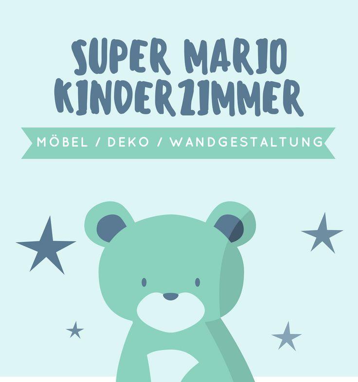 Ideen Für Ein Super Mario Kinderzimmer Super Mario Wandgestaltung Mit Super  Mario Tapete Oder Super Mario