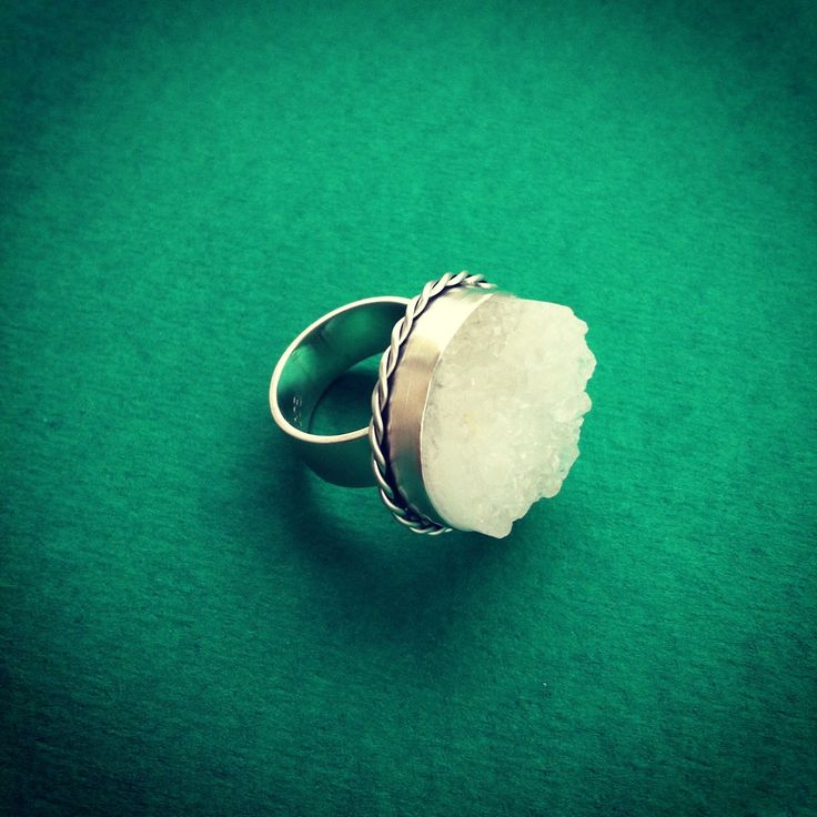 The Lady Anne Ring - Silver & Quartz
