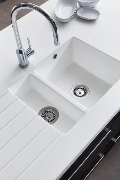 Epoqin avonite komposiittitaso upotetun altaan kanssa oma for Avonite sinks