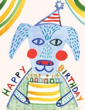 Изображение С Днем Рождения (собака), карта