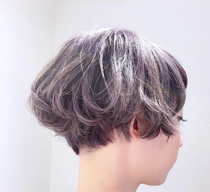 Sachiko Handaさんのヘアカタログ | ゆるふわ,外国人風,卵型,ハイライトカラー,ダークグレー | 2015.10.31 02.02 - HAIR