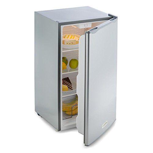 nice Klarstein Beerkeeper Nevera 92l clase A+ (compacto refrigerador con 92L capacidad, bajo consumo, ideal pisos pequeños, 83cm altura)