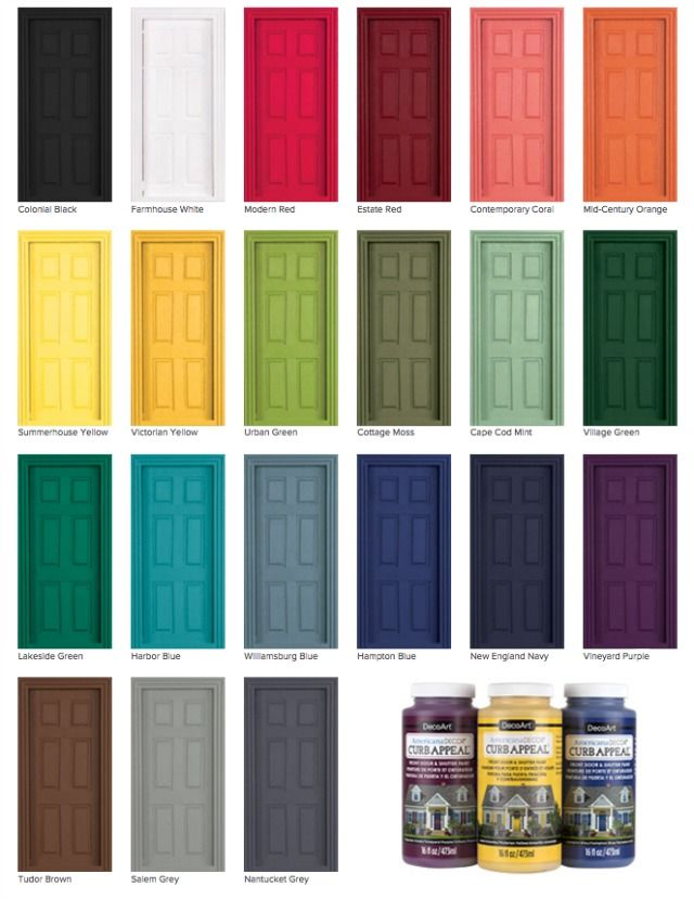 How To Paint A Door Without Removing It For The Home Painted