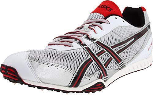 14e0a9ed0a9cd ASICS Men's GEL-Dirt Dog 3 Track & Field Shoe,Silver/Black/Red,12.5 ...