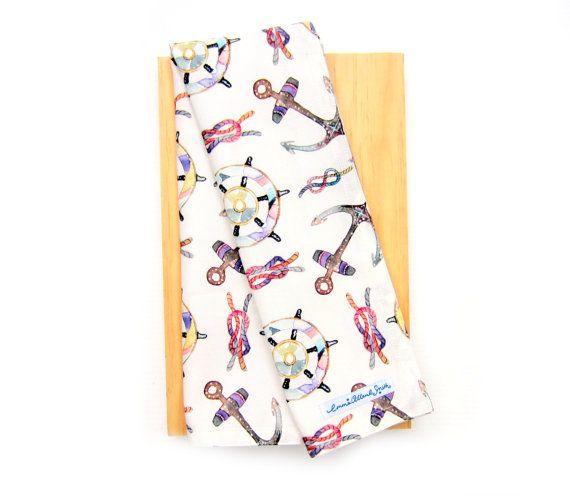 Nautical tea towel by Emma Allard Smith