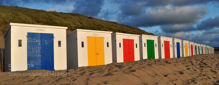 Popular on 500px : Woolacombe Beach Huts by jameshibbert7