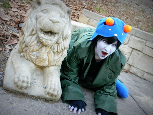 This is a really awesome Nepeta cosplay!