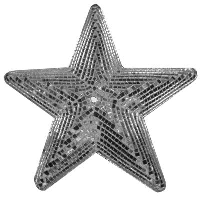 Discobol sterren vorm 25 cm