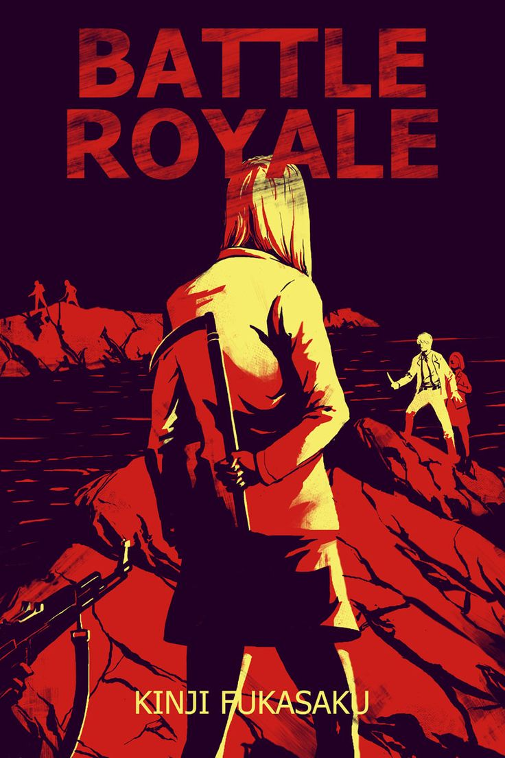 """""""Before Hunger Games made kids kill each other for sport, the ultra-violent classic Battle Royale did. A disturbing bit of pulp fun."""" --Mary R"""
