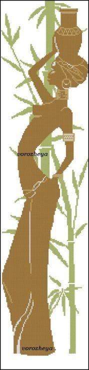 Gallery.ru / Африканские мотивы - Платные схемы - Vorozheya