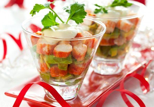 Новогодние закуски и салаты рецепты с фото