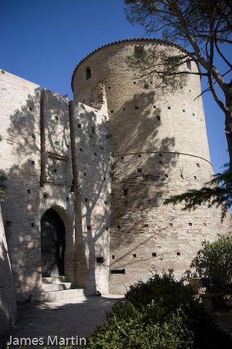 Brisighella, Italy - Rocca Manfrediana - Fortress Overlooking Brisighella. 44°13′00″N 11°46′00″E