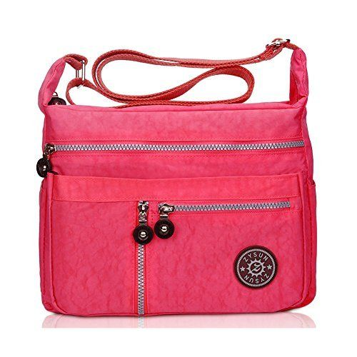 New Trending Cross Body Bags: Women Shoulder Bag,Fashion Crossbody Messenger Bag,ZYSUN Water Resistant Satchel Handbags(601N,brightpink). Women Shoulder Bag,Fashion Crossbody Messenger Bag,ZYSUN Water Resistant Satchel Handbags(601N,brightpink)   Special Offer: $15.99      177 Reviews The unisex messenger bag with chic, stylish, practical and roomy design. Select high-quality water resistant material, lightweight, soft,...