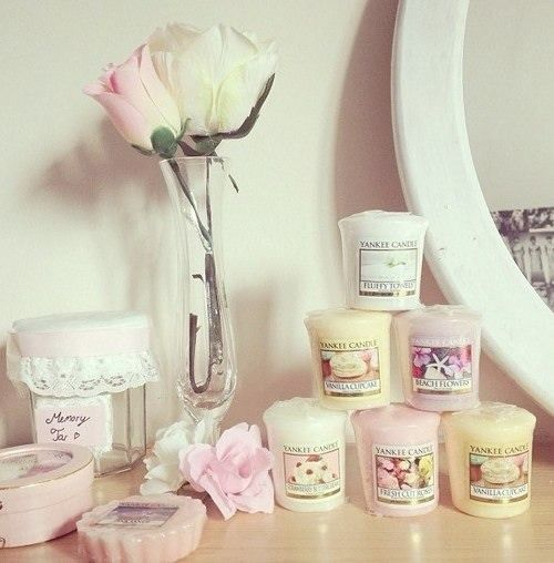Organise your cute candles on your vanity, makes cute decor too!