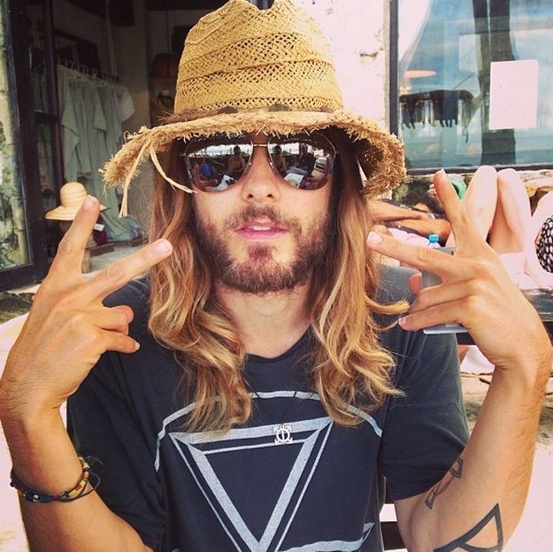 He's just plain hot. | Jared Leto Defies All Aging Logic As The Sexiest 42-Year-Old Man On Earth