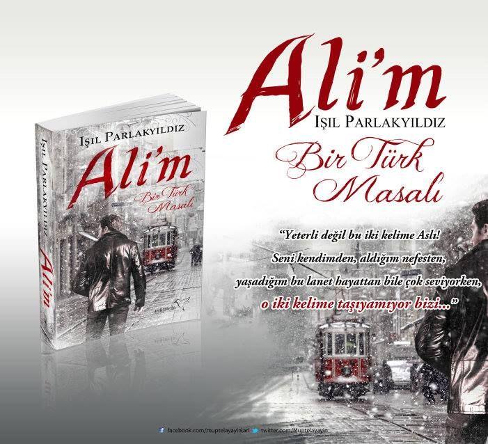 Bir Kişiye İmzalı Ali'm Kitabı ve Posteri Hediye!