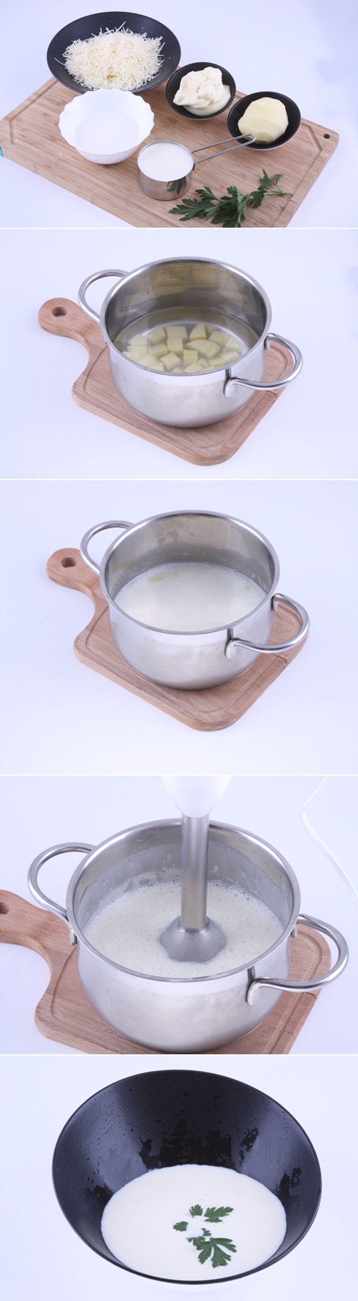 Суп-крем Сырный. Нежный вкус и прекрасное сочетание ингредиентов - все это вы найдете в этом замечательном блюде. Рецепт очень прост и займет у вас не более 25 минут. Полный список ингредиентов и способ приготовления блюда вы можете увидеть в...http://vk.com/dinnerday; http://instagram.com/dinnerday #суп #кулинария #ингредиенты #сыр #картофель #еда #молоко #крем #рецепт #рецепты #dinnerday #food #cook #recipe #recipes #soup #cheese #milk #potato