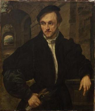 A Man, ca. 1540 (Unknown Artist, Lombard/Brescia) Kunsthistorisches Museum, Wien…