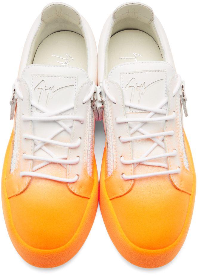 Giuseppe Zanotti - White \u0026 Orange