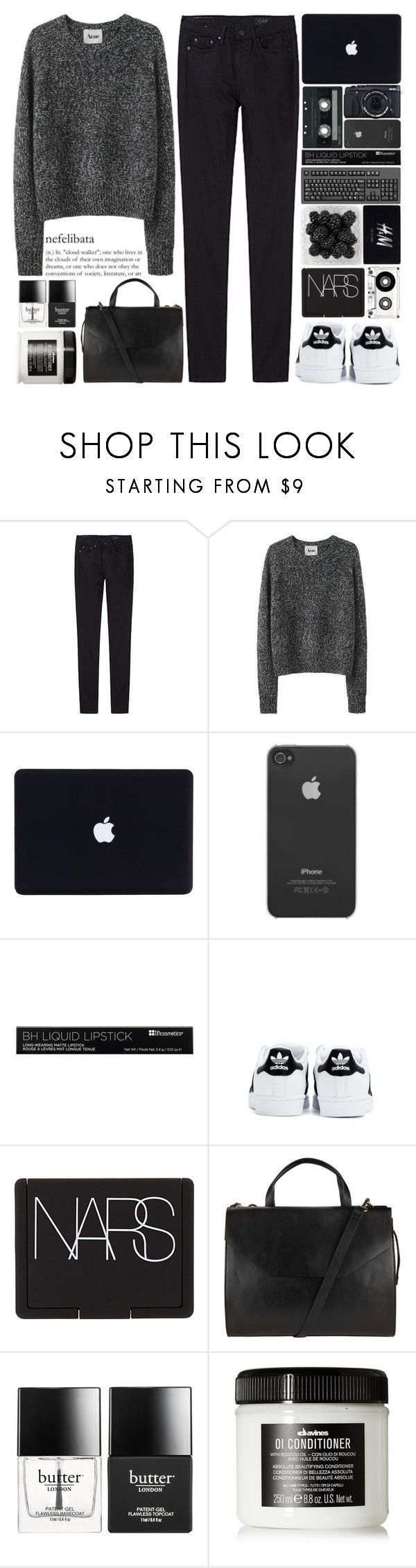 """""""No one ever looked so good in a dress And it hurts cause I know you won't be mine tonight"""" by one-styles ❤ liked on Polyvore featuring THEM ATELIER, Acne Studios, Incase, Fujifilm, CASSETTE, H&M, adidas, NARS Cosmetics, John Lewis and Butter London"""