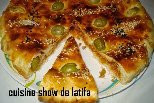 cuisine show de latifa: tourte saléeتارت مالحة لرمضان