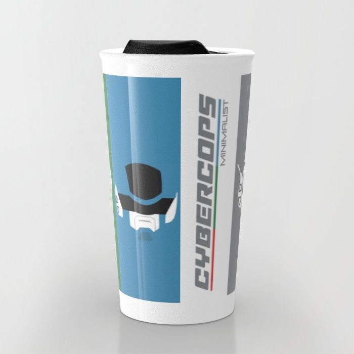 Buy Cybercops Travel Mug by Itamar Schuindt. Worldwide shipping available at Society6.com. Just one of millions of high quality products available.