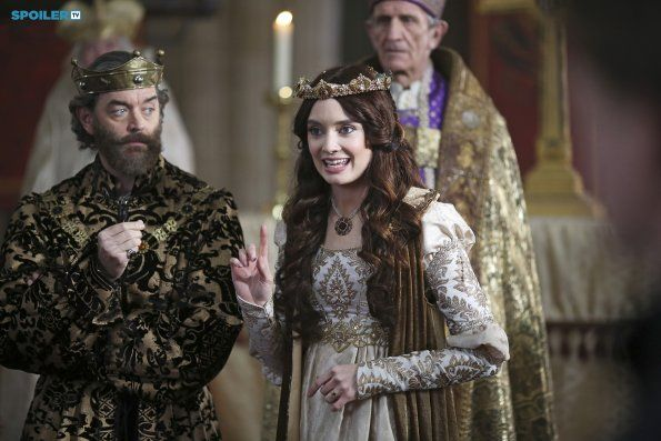 King Richard (Timothy Omundson) and Madalena (Mallory Jansen) in Galavant