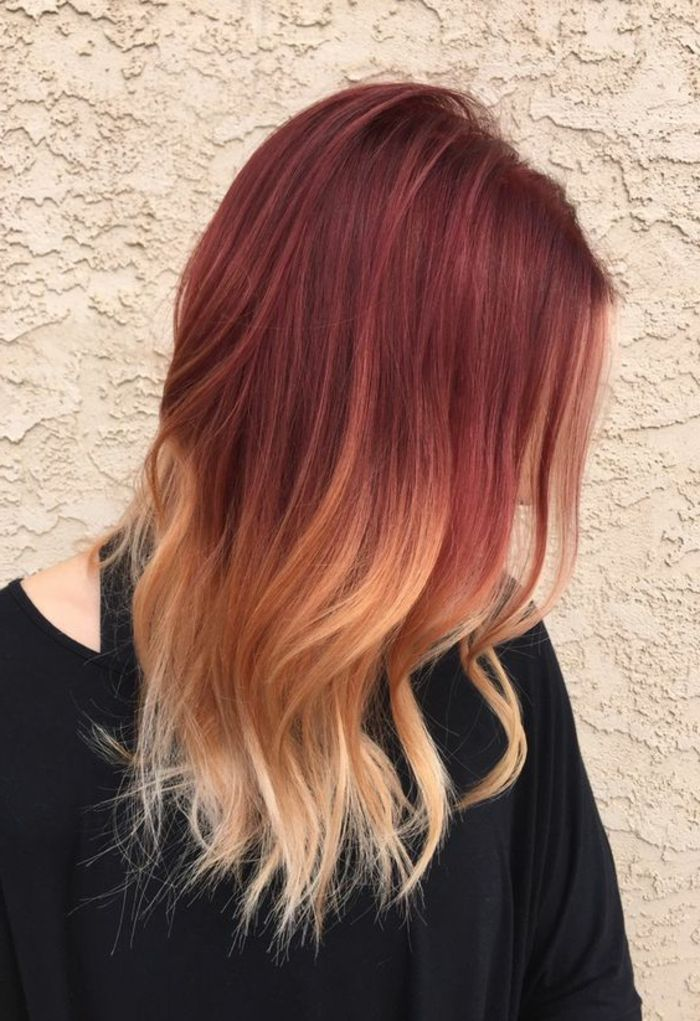Ombre hair make yourself - the Sunkissed look to imitate ...