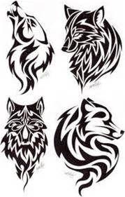 celtic wolf tattoo design