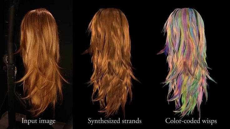 Structure-Aware Hair Capture (Siggraph 2013)