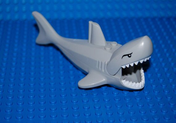 rare Vintage Lego great white shark pirate ocean by ...