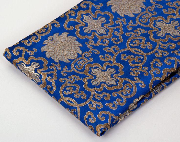 12yd tibetan damask jacquard brocade tapestry fabric
