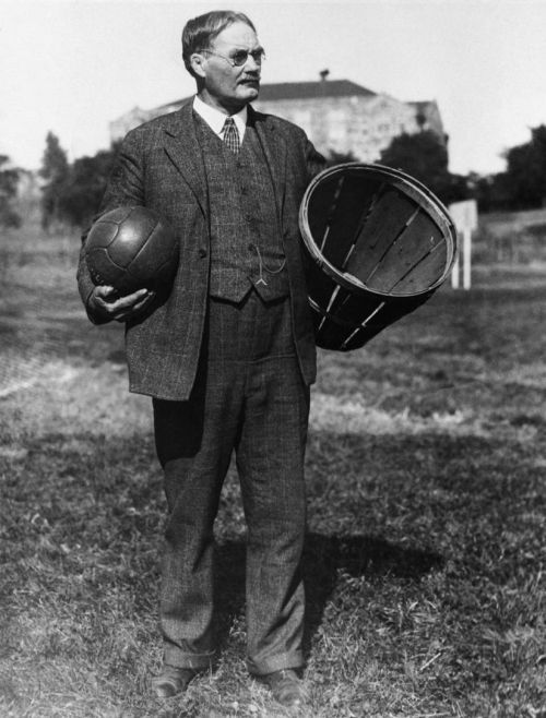 James Naismith, the inventor of basketball - 1891