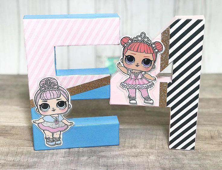 These cuties! LOL Surprise Dolls 2 for $20 set! Www.ittybitsdesig… – Shays 5th Birthday