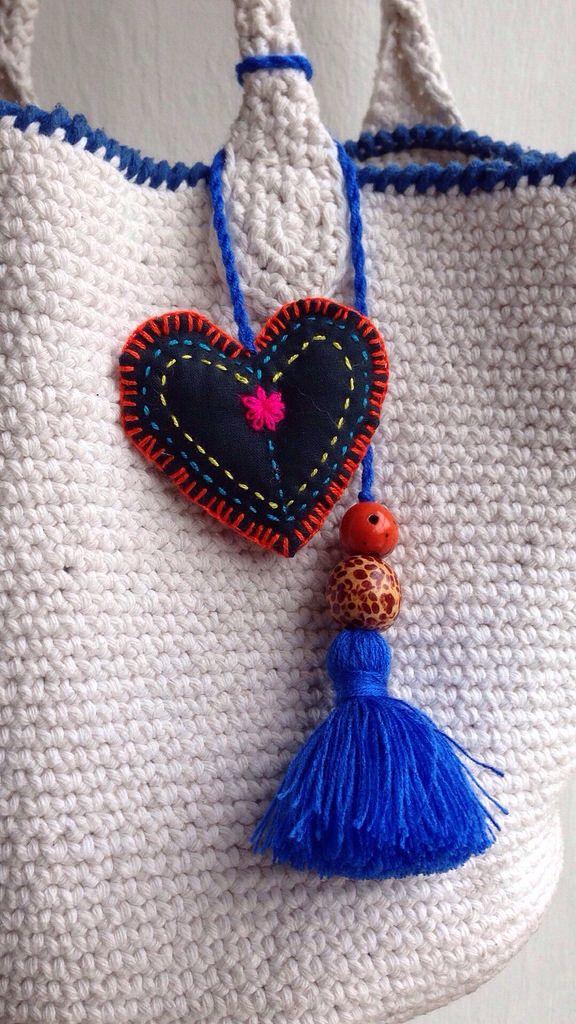 Corazón para bolso
