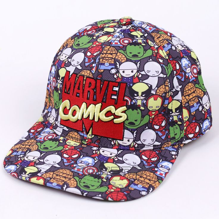 Marvel Heroes Cap //Price: $18.00 & FREE Shipping //     #avengers #justiceleague #superman #spiderman