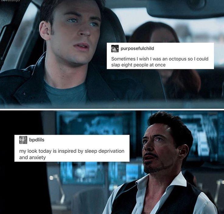 Avengers + Text