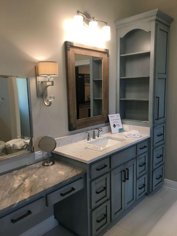 40+ Magnificient Bathroom Cabinet Design Ideas