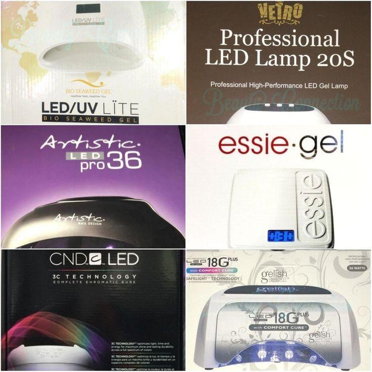 Bio Seaweed Color Club CND Gelish Artistic Essie Vetro UV LED Nail Lamp YOU  PICK #