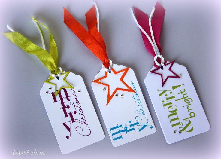 desert diva: Holiday gift tags