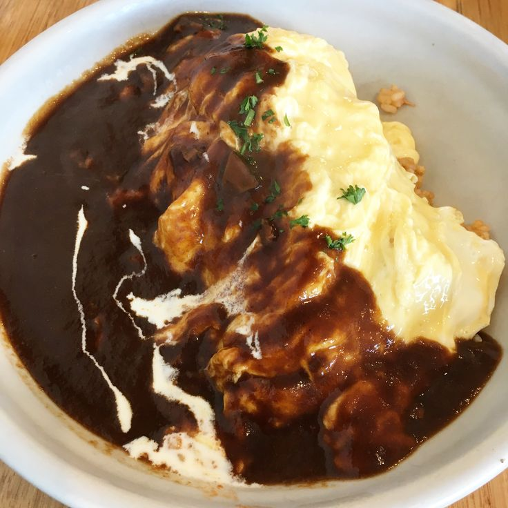 KUU Japanese Cafe (South Melbourne: Chicken Omurice [8.5/10].