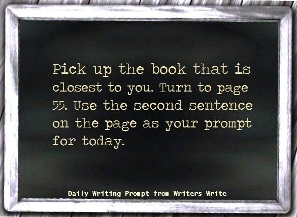 Daily Writing Prompt. Great idea for when you're stuck! |Story ideas||Writing tips|