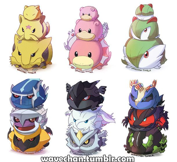 Artist reimagines Pokemon and their evolutions as cute Tsum Tsum!