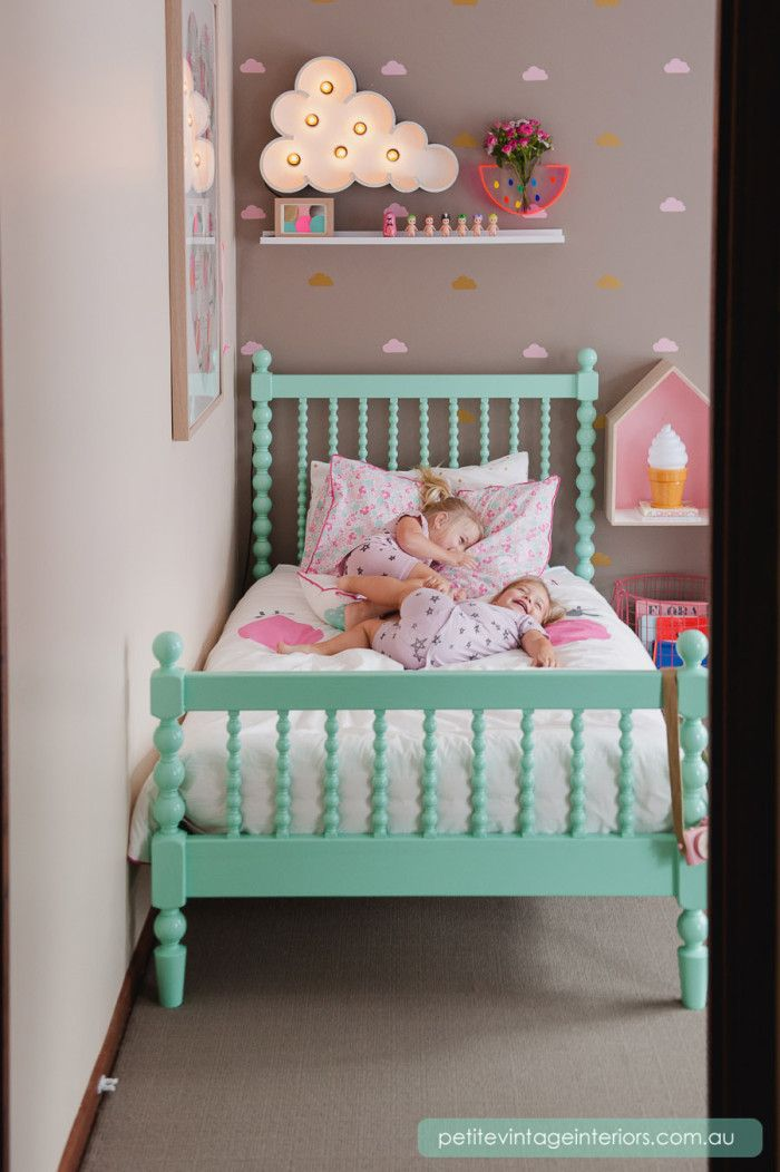 Petite Vintage Interiors - Children's Interior Design...I love this kid's bed.