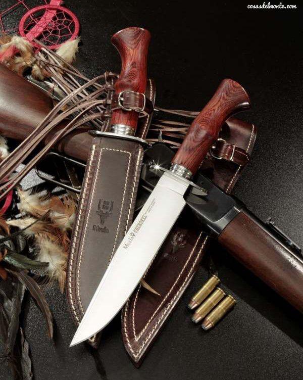 CHEROKEE-19R - Hunting knife by Muela - www.cosasdelmonte.com                                                                                                                                                      Más