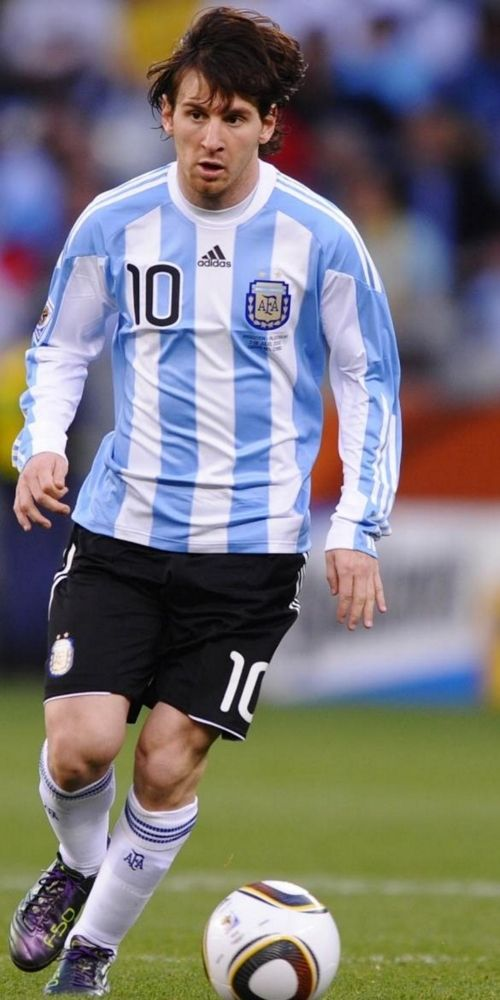 Lionel Messi  Argentina National Team Gallery