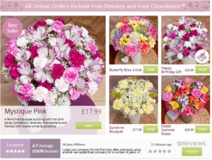 Great Value Flowers from £12.99, Show Someone You Care - Flowers By Post Delivered FREE in the UK http://www.flowersbypostuk.org.uk/